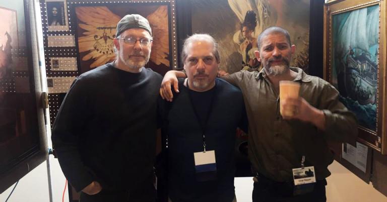 Dave Seeley, Scott Grimando, & Omar Rayyan